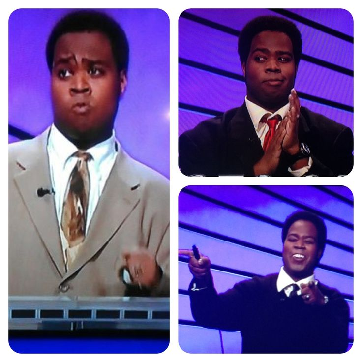 Loved this jeopardy winners facial expressions