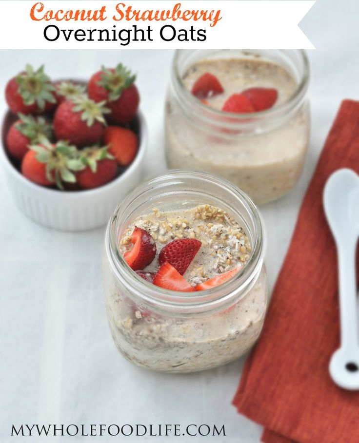 As you know, I just love my oats. And my favorite way to eat them is in the form of overnight oats. Overnight oats, or Oats in a Jar, are so easy and you don't even need to cook them! This coconut strawberry overnight oats is my newest creation. You can make these with either …