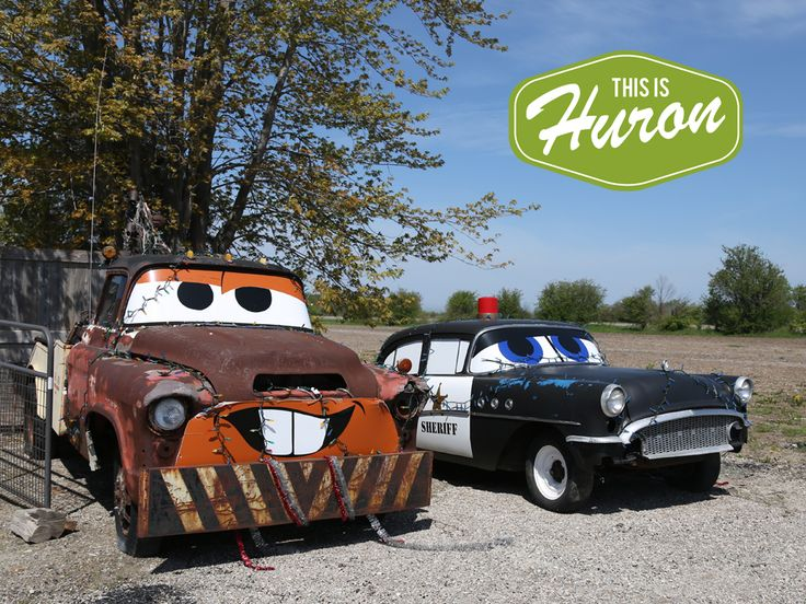 "The ""Cars"" cars in Goderich - www.thisishuron.ca"
