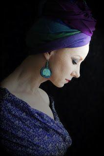 kolczyki. ceramika, sutasz, jedwab, koraliki / earrings. ceramic, soutache, silg, beads ///  http://karolina-g.blogspot.com/2013/09/t-jak.html