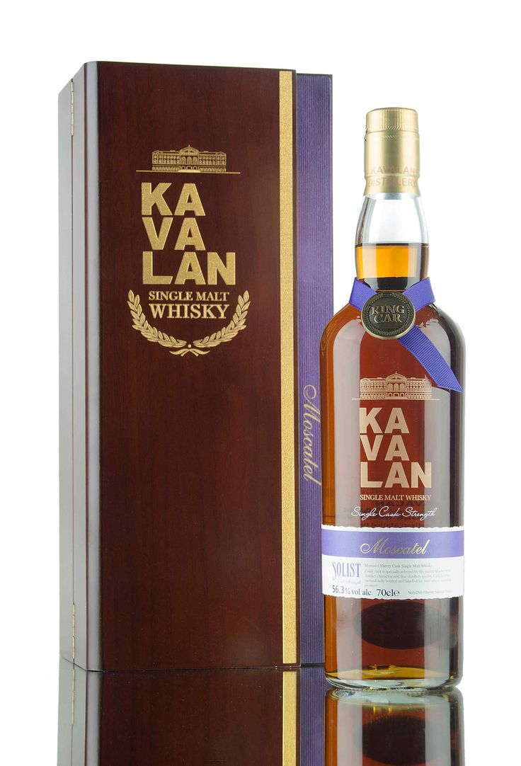 A beautifully presented Kavalan, aged in a cask that previously held Moscatel sherry. Released by King Car distillery in 2016 under their Solist whisky range, 530 bottles were drawn from cask 3031A at 56.3%.