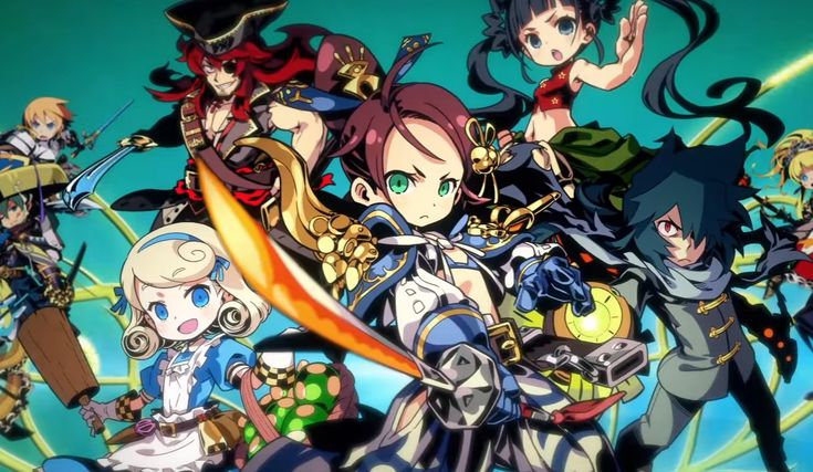 3DS Exclusive Etrian Mystery Dungeon 2 Announced by Atlus with First Trailer