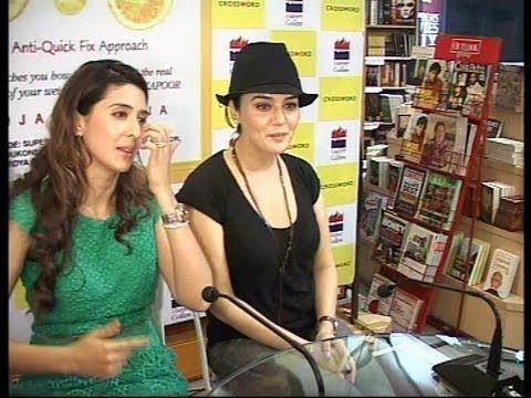 Preity Zinta at the book launch of Pooja Makhija.