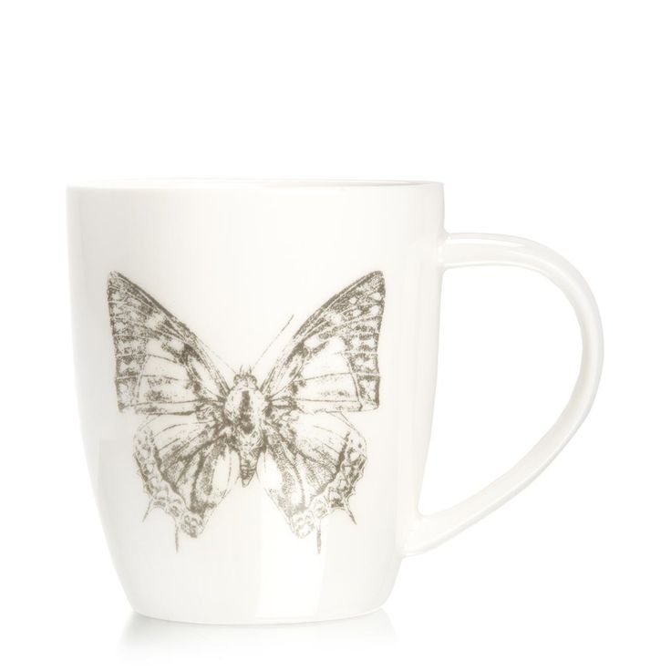 Butterfly Sketch Mug .... another need :-)
