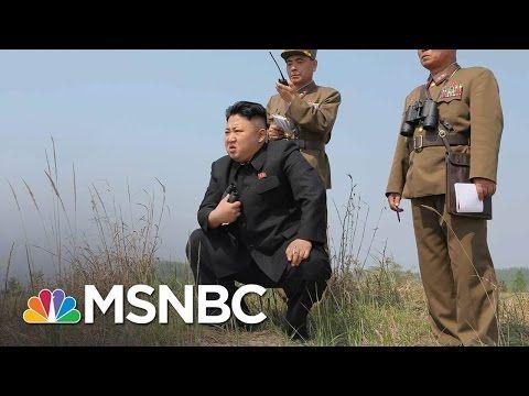 President Trump Signals Risk Of 'Major, Major Conflict' With North Korea   Morning Joe   MSNBC - YouTube