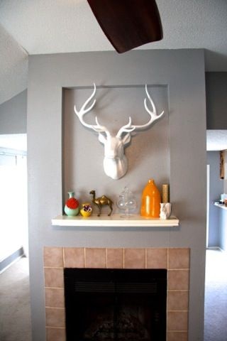 62 best FAUXIDERMY CHIC images on Pinterest   Deer heads, Living ...