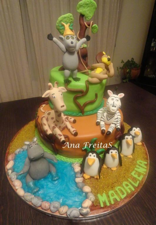 Madagascar cake   Jo Takes The Cake   Flickr