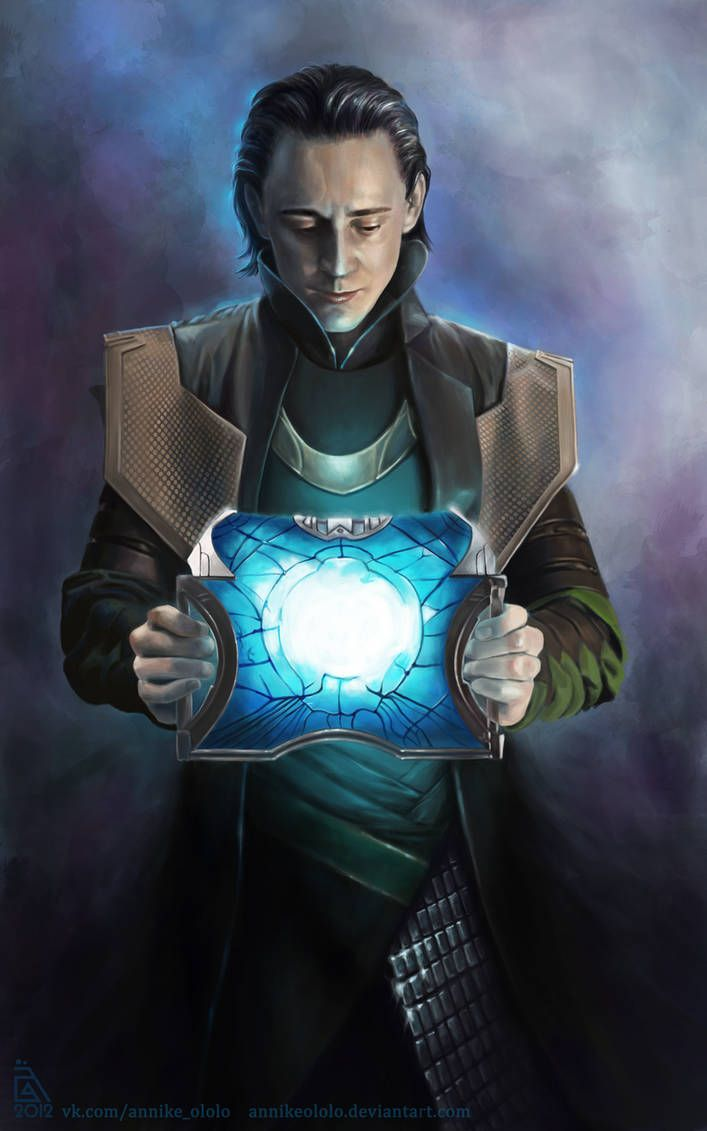 Loki… again :) by AnnikeAndrews