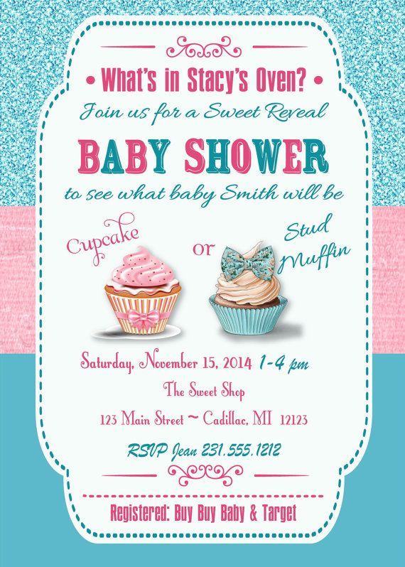 The 25 best Gender reveal party invitations ideas on Pinterest