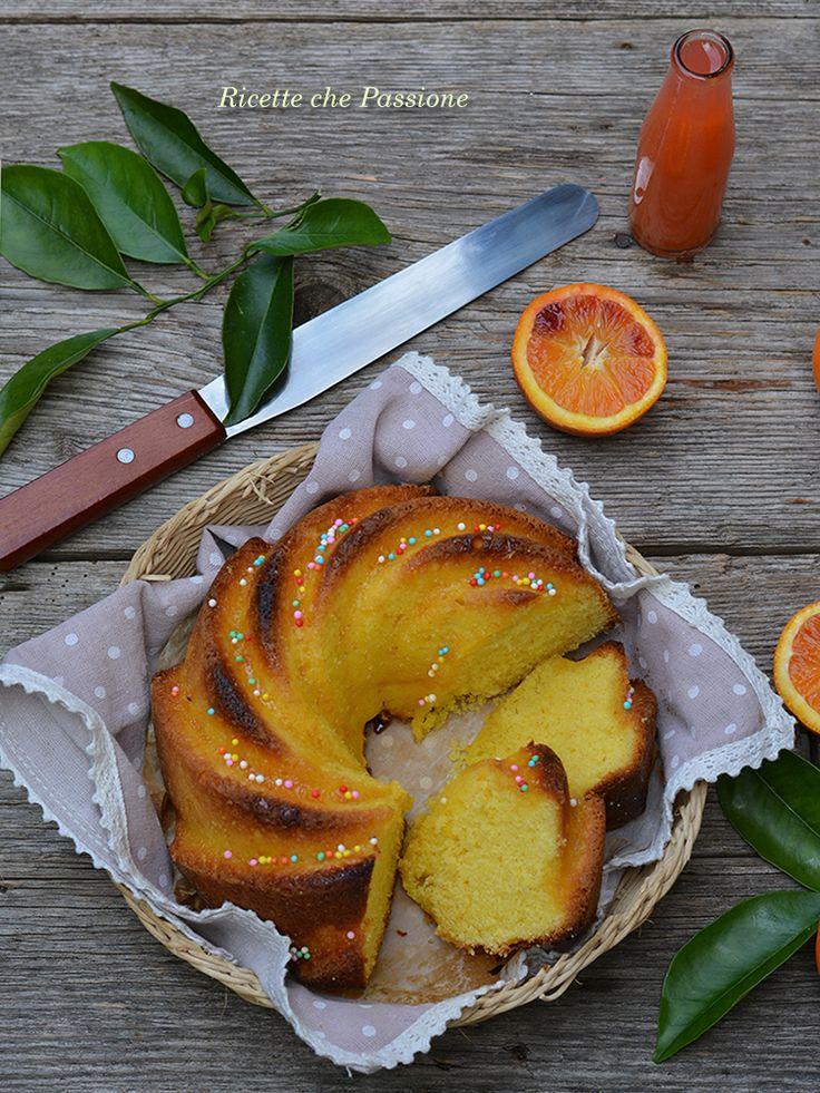 Ciambella all'arancia - Ricette che Passione