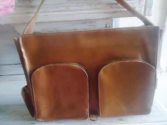 Messenger bag for man or womanLeather by FrenchTouchSoChic