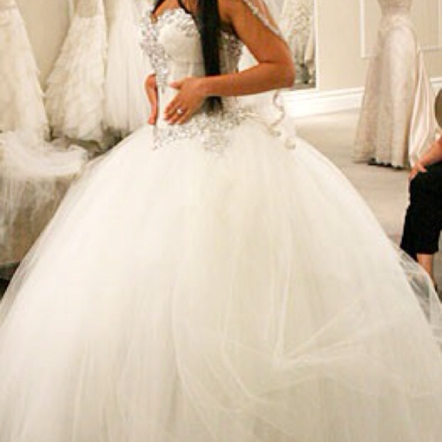 38 best images about wedding dresses on pinterest for Big ball gown wedding dress