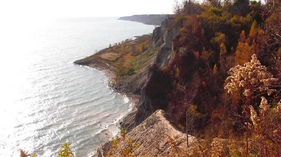 Scarborough Bluffs: view from top