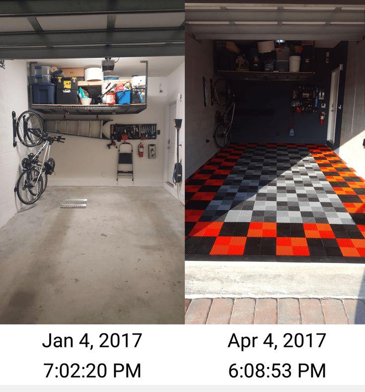 best 25+ garage floor tiles ideas on pinterest   garage flooring