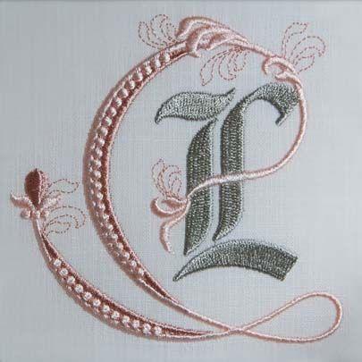 Fleur de Lis Alphabet- L: Sonia Showalter: