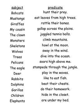 Lesson exchange sentence strip lesson