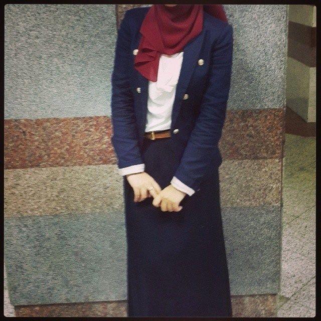 Love the colours. #hijab #fashion
