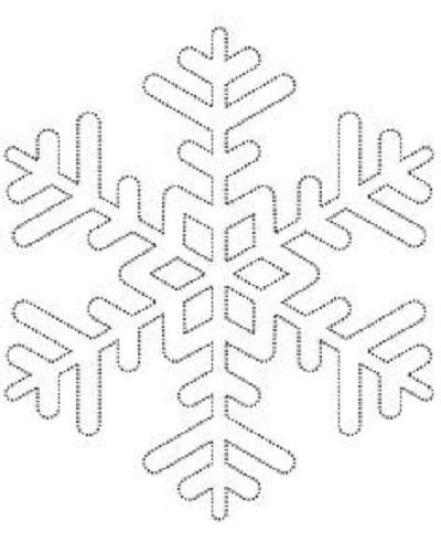 Comment fabriquer un flocon de neige tout brillant! UN PATRON GRATUIT! - Décoration - Des idées de décorations pour votre maison et le bureau - Trucs et Bricolages - Fallait y penser !