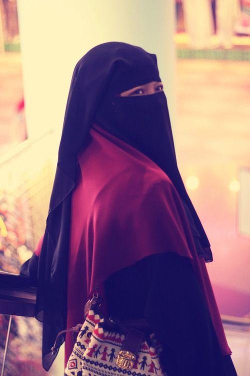 the Beauty of Hijab ( Niqab)