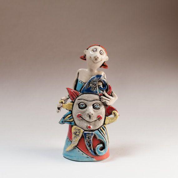 """Ceramic figurine """"Girl Sun"""""""