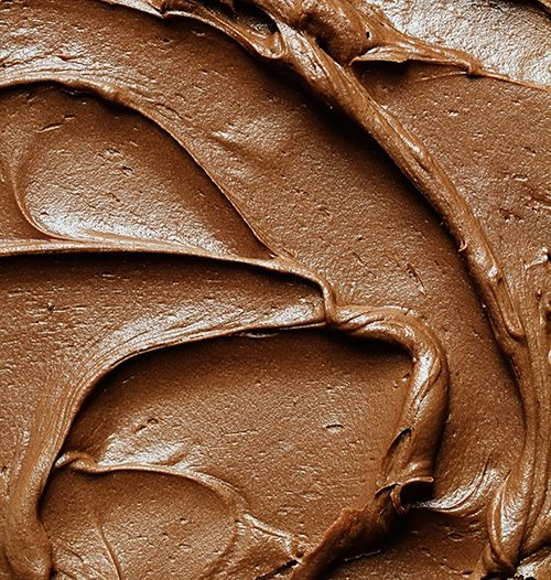 The Perfect Chocolate Frosting for Brownies