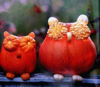 Craft room/play room. we-be-hallowe-enHalloween Decorations, Pumpkin Owls, Decorating Ideas, Halloween Pumpkins, Fall, Autumn Owls, Martha Stewart, Decor Diy, Crafts
