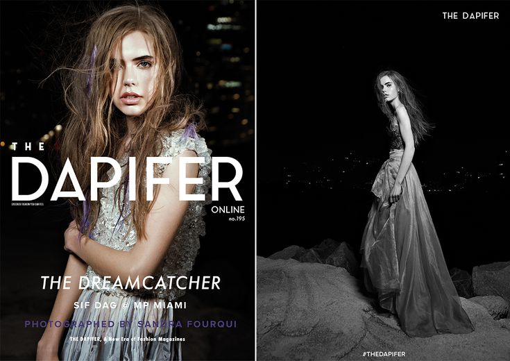 Photographer Sandra Fourqui Lenses MP Miami's Sif Dag in an enchanting editorial exclusive for thedapifer.com.