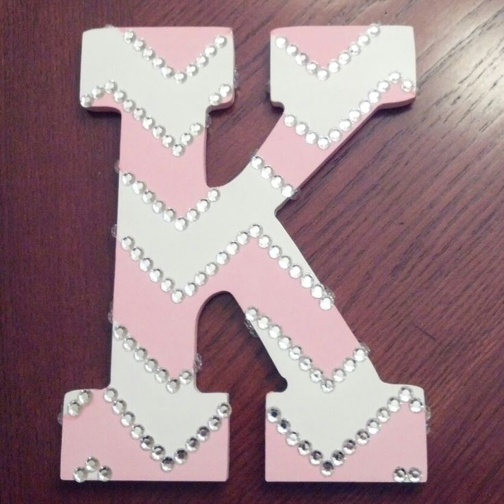 Initial for my little girls bedroom.