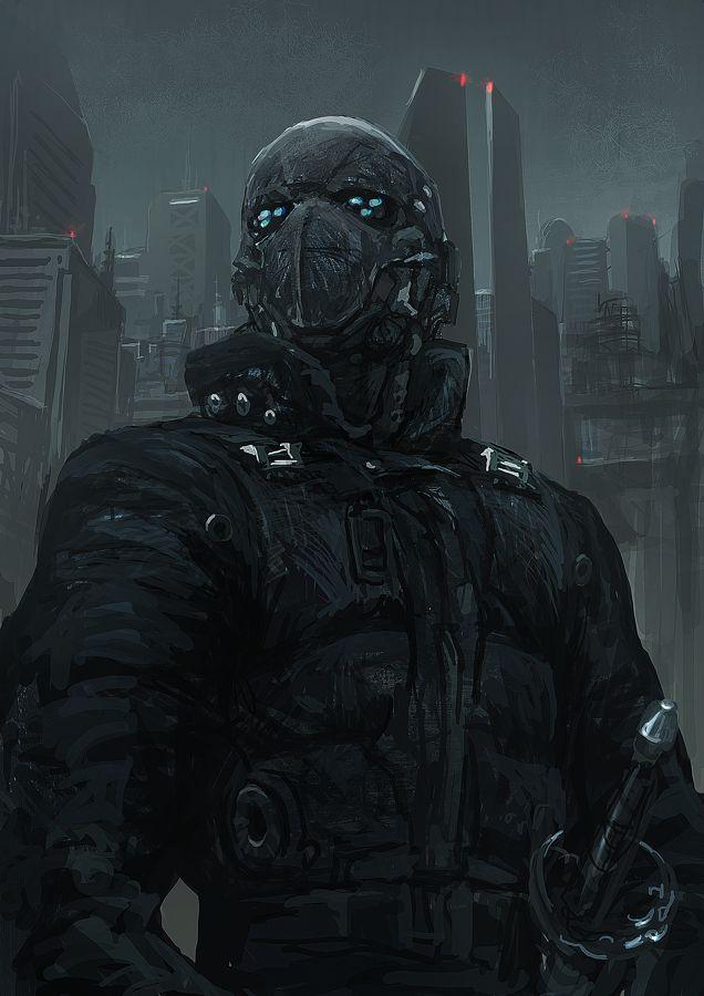 Cyberpunk Atmosphere by ~torei on deviantART