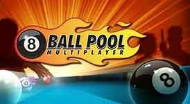8 Ball Pool by Miniclip is the biggest and best multiplayer Pool game online! Play for free against other players and friends in 1-on-1 matches, and enter multiplayer tournaments for the billiards crown. Level up as you compete, and earn Pool Coins as you win. Enter the Pool Shop and customize your game with exclusive cues and cloths. This is the complete online 8 Ball Pool experience