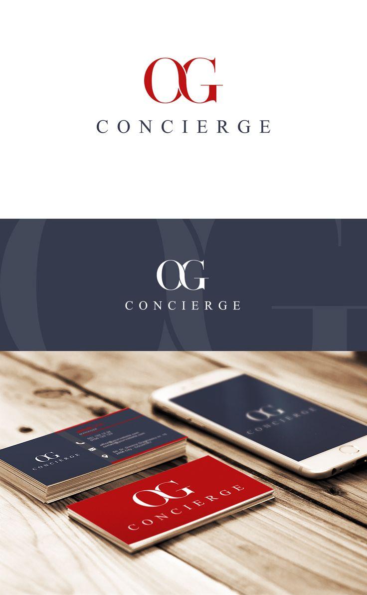 Logo design - Corporate logo - O & G Concierge