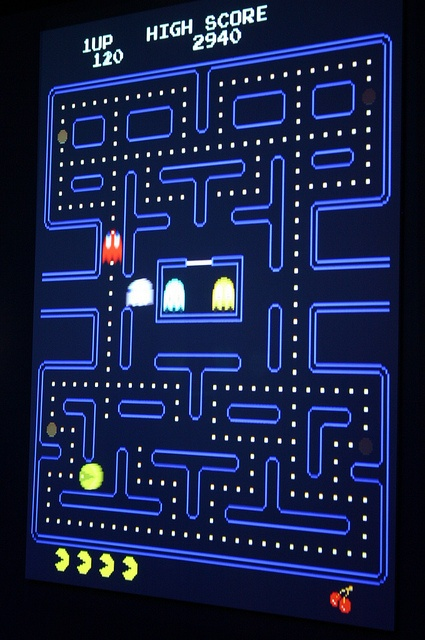 Toru Iwatani: Pac-Man by Ryan Somma, via Flickr