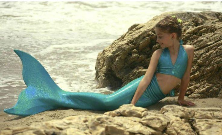 Хвост русалки фантазия принцесса Swimmable девушки хвост костюм купальник Chlidren бассейн косплей костюм для подарка