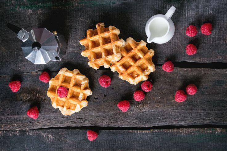 La ricetta per deliziosi waffle su Kasanova Blog!