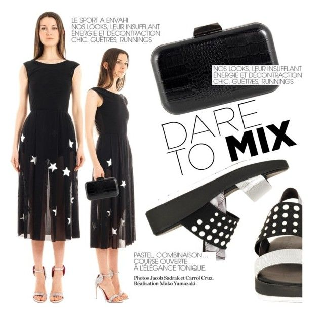 Stars&Pois! by thequeenstore on Polyvore featuring moda