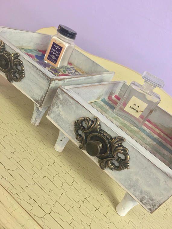Sewing Machine Drawers Repurposed