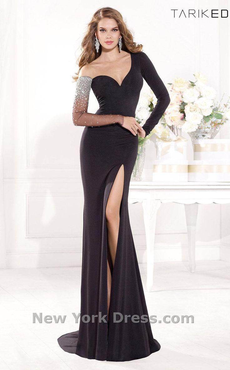 Tarik Ediz 92373 Dress - NewYorkDress.com