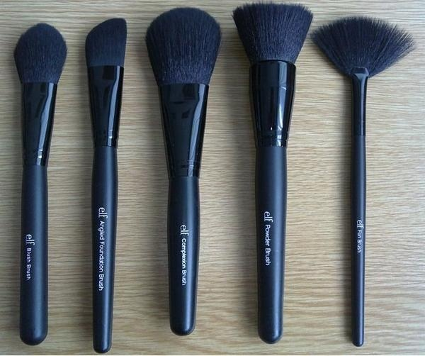 I own each of these ELF brushes from their studio line. They are great starter brushes and are so inexpensive!