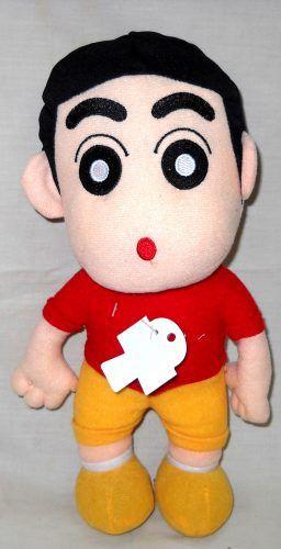 Boneka Shinnosuke Nohara Shinchan 11 Inch (520651) Boneka...  Boneka Shinnosuke Nohara Shinchan 11 Inch (520651)  Boneka Shinnosuke Nohara Shinchan 11 Inch (520651)  Boneka shinchan ukuran 11 inch ini terbuat dari bahan yang halus dan lembut.  Cocok digunakan sebagai kado ulang tahun hadiah buat anak/keponakan/sepupu/pasangan/kekasih/pacar/sahabat/teman ataupun bingkisan pada momen istimewa seperti ulang tahun pernikahan valentine kenaikan kelas kelulusan hari kasih sayang dan lain-lain…