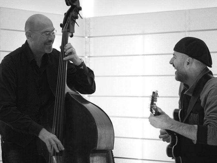 Dado Moroni e Bebo Ferra in concerto al CESP di Pratosardo il 22.5.2015 Nuoro Jazz anteprima