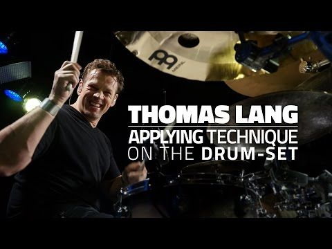 Thomas Lang - Applying Technique On The Drum-Set (FULL DRUM LESSON) - YouTube