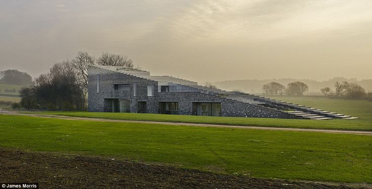 Block of cheese? Flint House has been designed by architects Skene Catling De La Pena. A f...