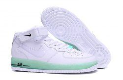 fe53e90738cd4c Nike Air Force 1 Upstep Jelly White Black 596729 030 Men s Women s Casual  Shoes