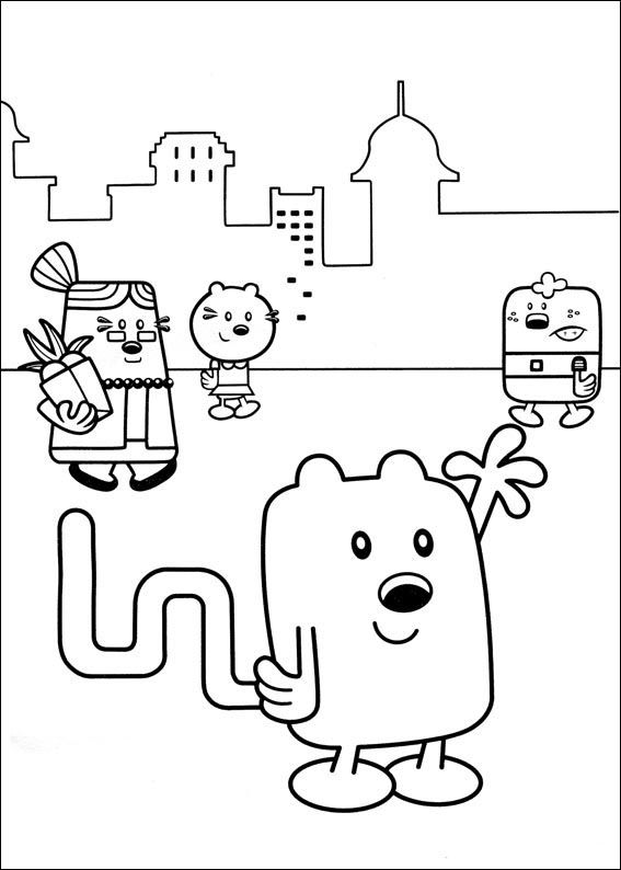 Wow Wubbzy Coloring Pages 21