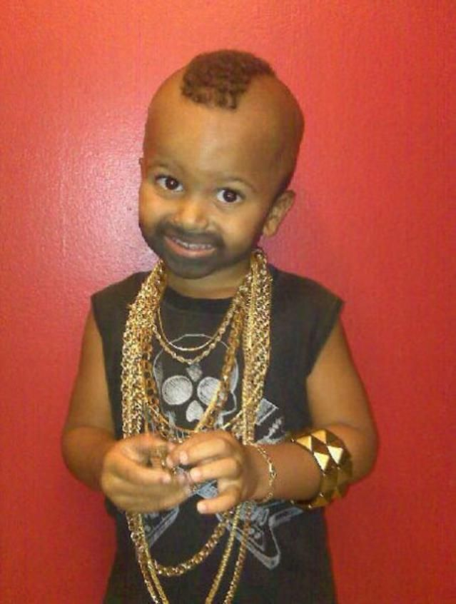 20 Funny Baby Costumes That Won Halloween: Mr. T