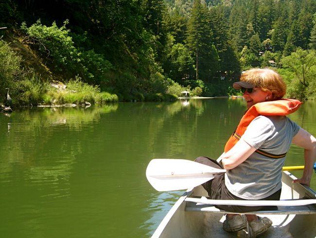 Burke's Canoe Trips, Forestville, CA