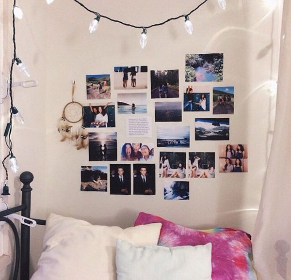 Teenage girls always want to try new things and youthful  including making  Comfortable bedrooms in accordance with their wishes  20 Sweet Room Decor. 17 Best images about new room on Pinterest   Girls  Tumblr bedroom