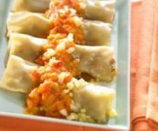 Rezept Cannelloni mit Hackfleisch und Gemüsesauce von Thermomix Rezeptentwicklung - Rezept der Kategorie Hauptgerichte mit Fleisch