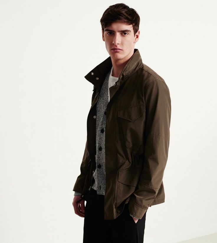 Whether you're going for safari chic or rugged military, Club Monaco's M-65 Jacket makes for a perfect fit.