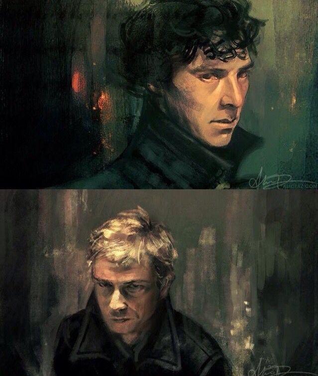 Sherlock & John fanart                                                                                                                                                      More